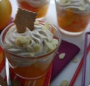 Verrine d'agrumes à la chantilly de biscuits Thé de LU®